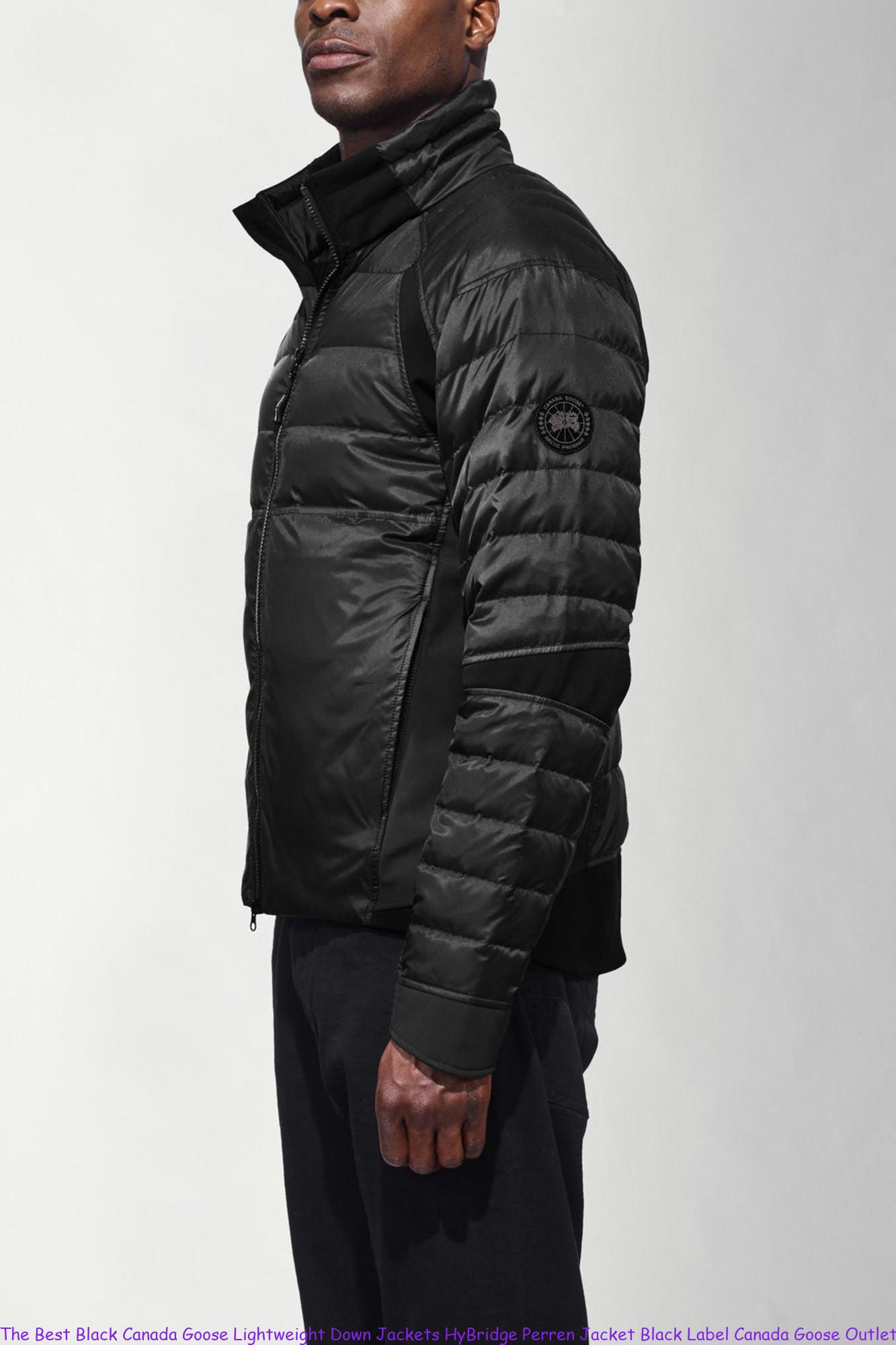 The Best Black Canada Goose Lightweight Down Jackets