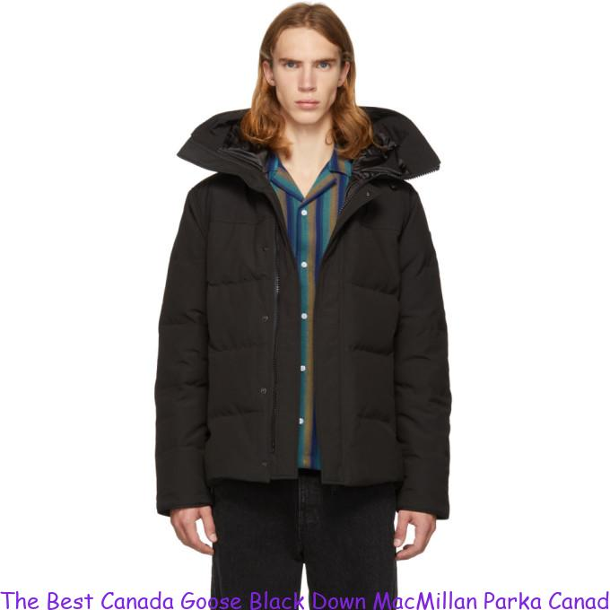 60837274a6a The Best Canada Goose Black Down MacMillan Parka Canada Goose Outlet Store  Uk 2844268