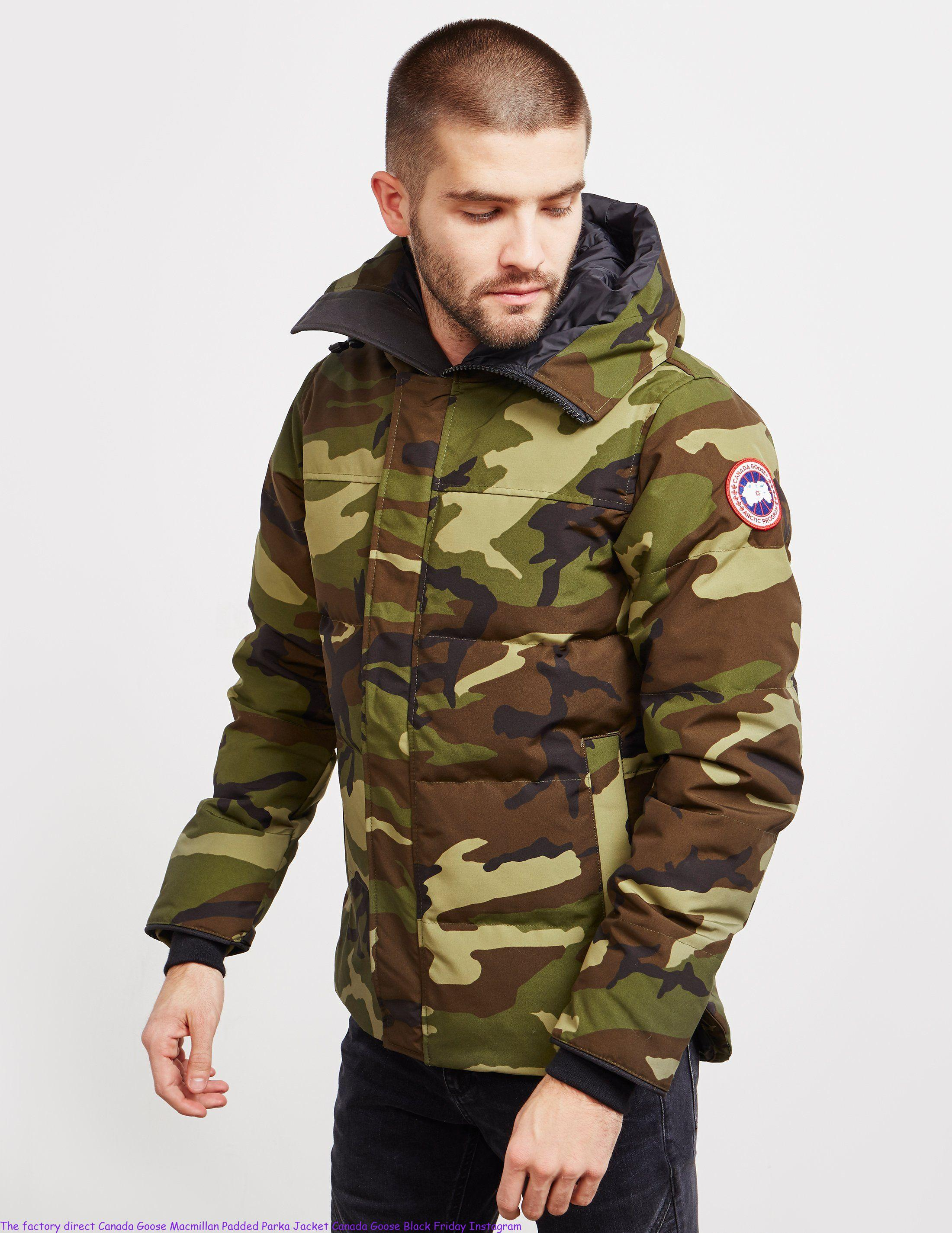 0591b9ccfd05d The factory direct Canada Goose Macmillan Padded Parka Jacket Canada Goose  Black Friday Instagram – Cheap Canada Goose Outlet Sale   Goose You