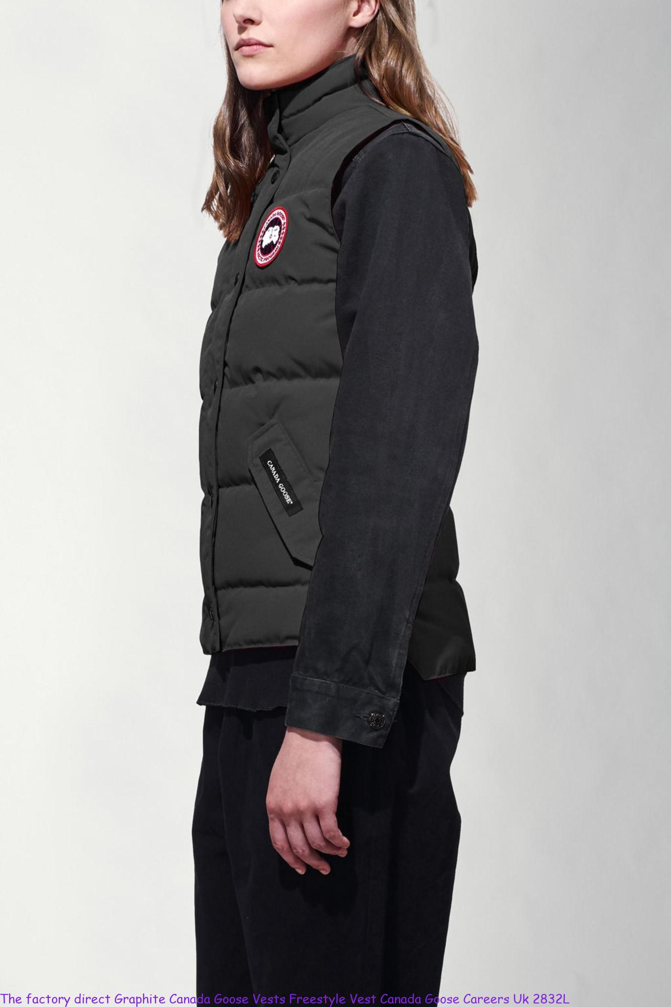 The factory direct Graphite Canada Goose Vests Freestyle Vest Canada Goose  Careers Uk 2832L – Cheap Canada Goose Outlet Sale  bdbe433a78d1