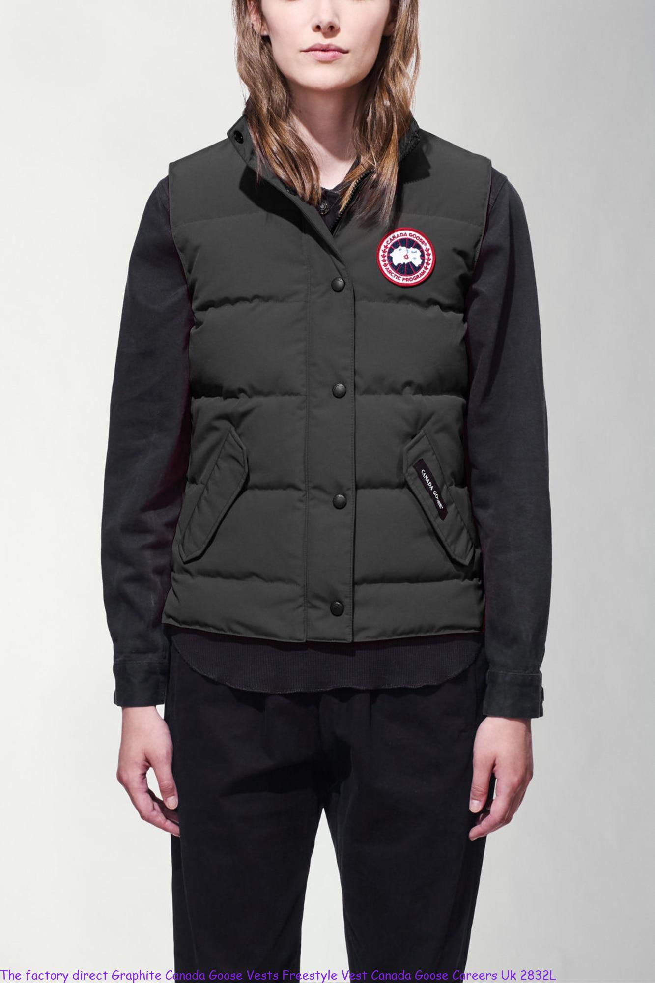 The factory direct Graphite Canada Goose Vests Freestyle Vest Canada Goose Careers Uk 2832L
